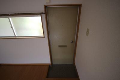 【玄関】土居アパート