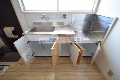 【キッチン】山中ハイツ