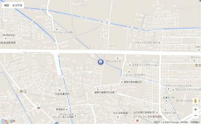 【地図】マーヴェラス・パレスⅡ