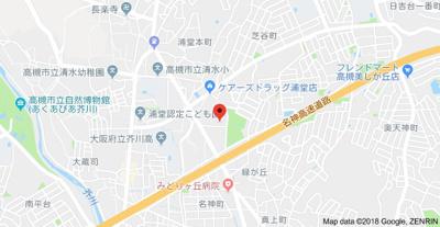 【地図】メゾンドファミール (株)Roots