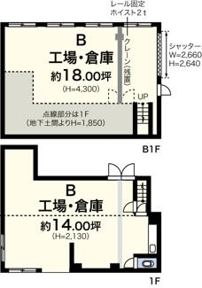 新吉田町5141B貸工場・貸倉庫