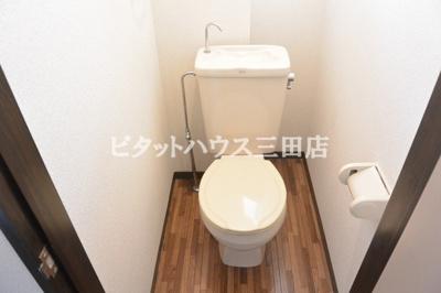 洋式トイレです