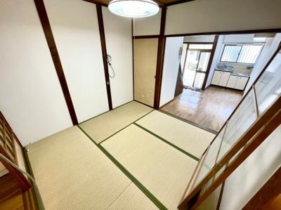 【寝室】高見の里6丁目貸家