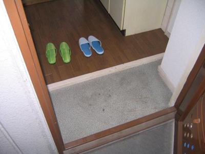 【玄関】平野ビレッジパート1
