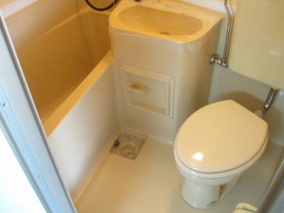 【洗面所】平野ビレッジパート1