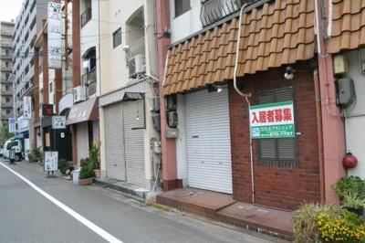 【外観】大町西3丁 住付店舗戸建