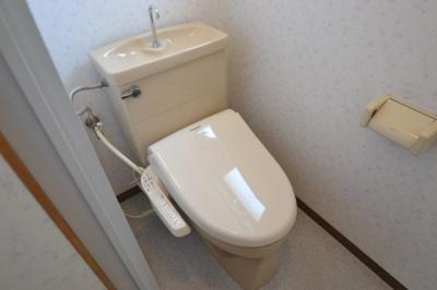 【トイレ】フローラルハイツ千旦