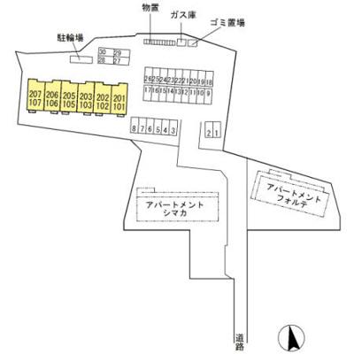 【地図】D-room島上条