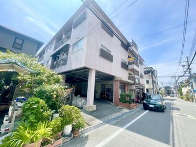 【外観】松ヶ丘マンション