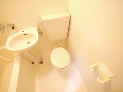 【トイレ】芝辻マンション