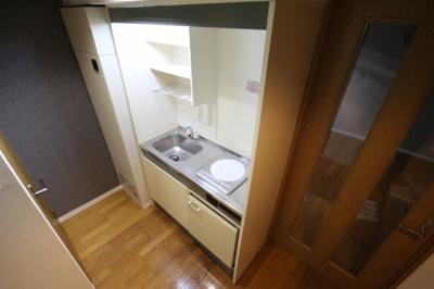 【キッチン】サンロイヤル八幡