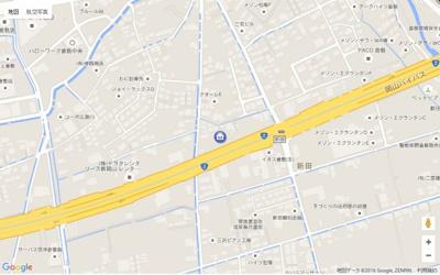 【地図】サンコート窪津