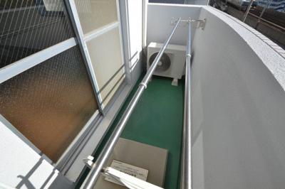 【バルコニー】シャトラン弓木二番館