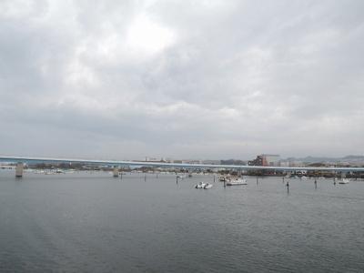 平潟湾を望めます♪
