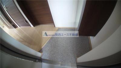 【玄関】プランドールE棟