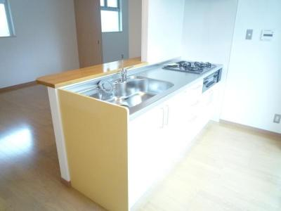 【キッチン】コートヤードハウス湯里