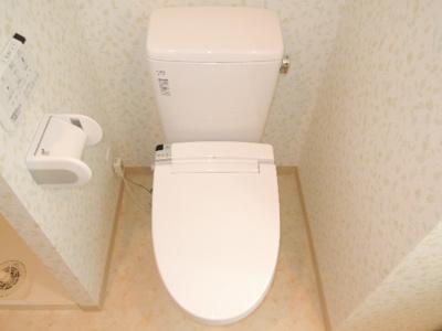 【トイレ】ヴィーブル駒川Ⅱ
