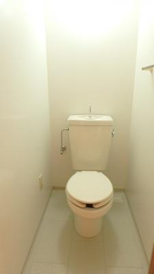 ゼファーシャン・ティオン蘇我弐番館のトイレ