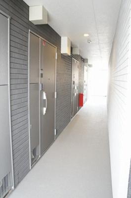 リブリ・フレスコの廊下