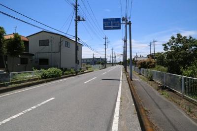 【前面道路含む現地写真】加須市間口