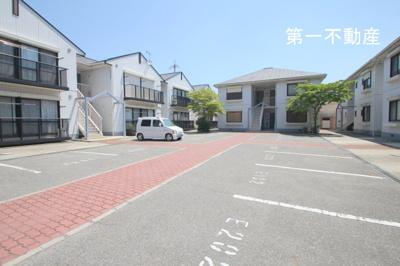 【駐車場】ガーデンハイツ緑ヶ丘2C