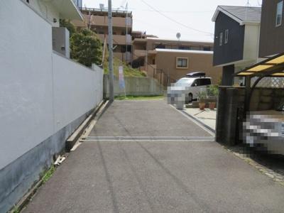 【前面道路含む現地写真】池田市渋谷1丁目  土地