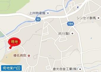 【地図】渋川市渋川 売地