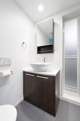ユーマハイツの独立洗面台