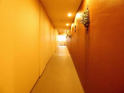マンション内廊下