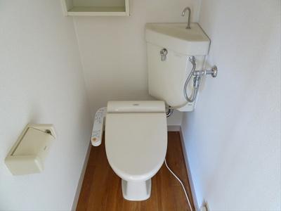 【トイレ】ハイツフラワー