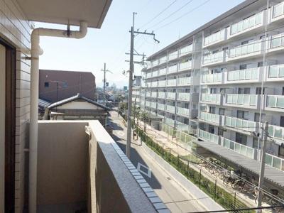 【展望】ジョイフルハイツ壱番館(小松小・学文中学校区)