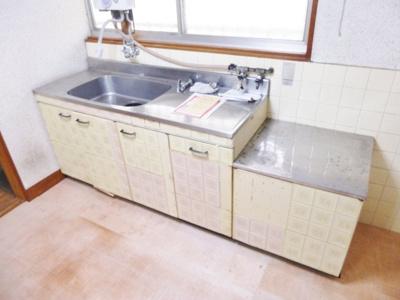 【キッチン】東阪田文化住宅