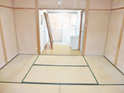 【寝室】東阪田文化住宅