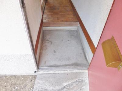 【玄関】東阪田文化住宅