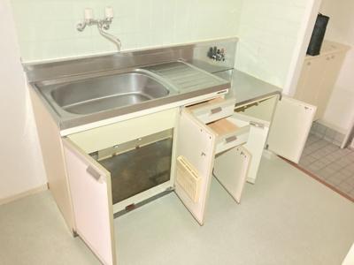 【キッチン】マンション・アイコー