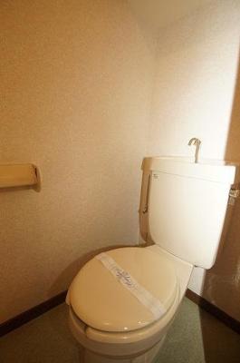 クロスステージ大濠(1DK) トイレ 写真は別号室です