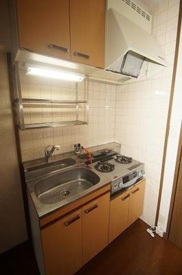 クロスステージ大濠(1DK) キッチン 写真は別号室です