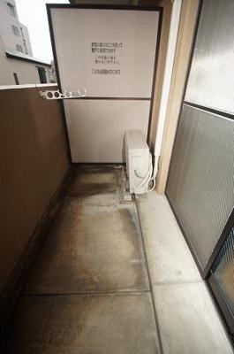 クロスステージ大濠(1DK) バルコニー 写真は別号室です