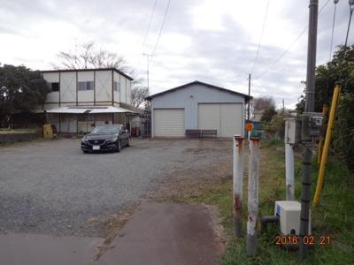 【外観】若葉区金親町貸地・貸倉庫