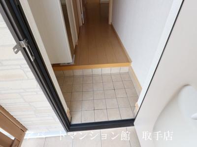 【玄関】ノーブルアビタシオンC