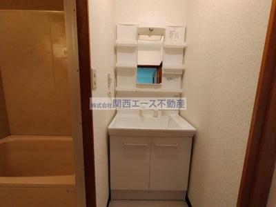 【洗面所】マンション藤2