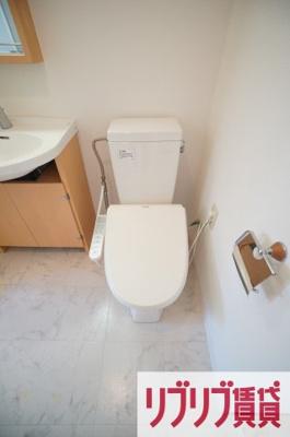 【トイレ】リエス千葉新宿