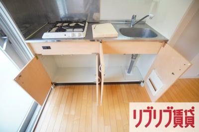【キッチン】リエス千葉新宿