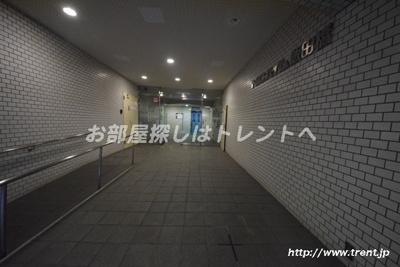 【エントランス】ニックハイム飯田橋
