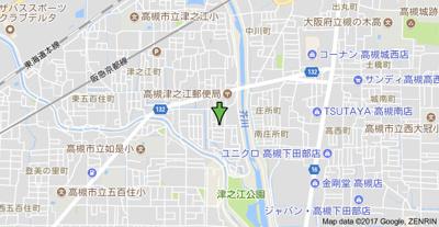 【地図】津之江ハウス (株)Roots