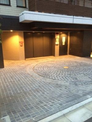 サンウッド西麻布の駐車場です。