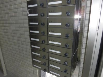 グラン・マーキュリーのメールボックス