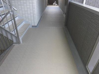 グラン・マーキュリーの廊下