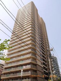 RC造のしっかりとした28階建てのタワーマンション
