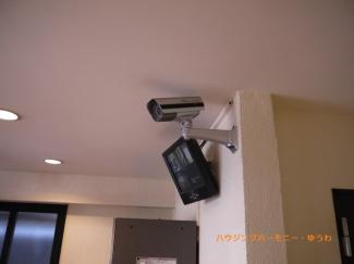 防犯カメラが設置されていますので安心ください。